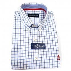 Camisa Cro. Cuadros Azul S