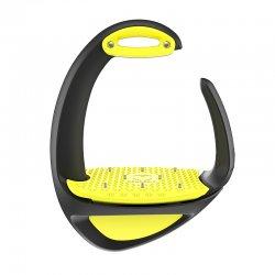 Estribo Compositi Ellipse Pro (Spikes) amarillo
