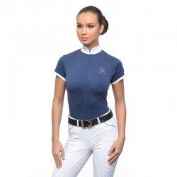Camiseta de Concurso STELLA Cavalliera Azul