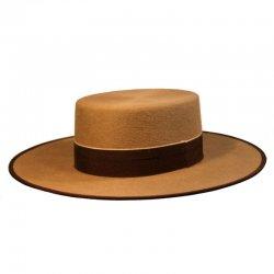 Sombrero Cordobés Cañero Lana 180 grs Camel