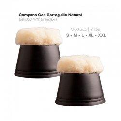 Campana con Borreguillo Natural ht0001 zaldi
