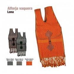 Alforja Vaquera Castecus de Lona zaldi