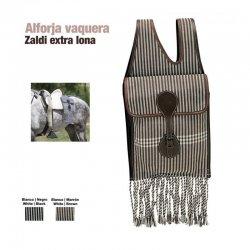 Alforja Vaquera Zaldi Extra de Lona zaldi