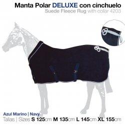 Manta Polar Deluxe con Cinchuelo zaldi