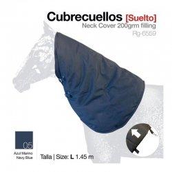 Manta Cubrecuello Suelto Azul zaldi