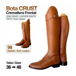 Bota Crust Cremallera Frontal
