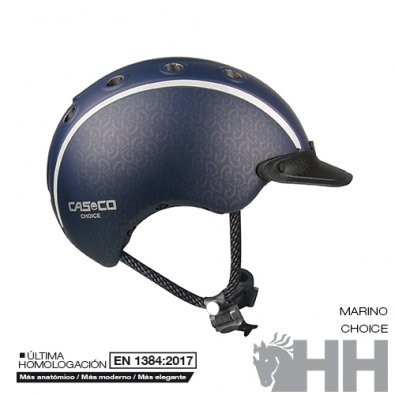Casco Cas-co Choice Azul