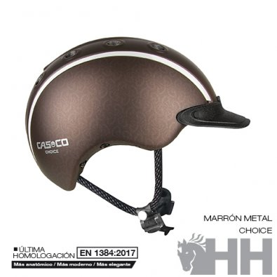 Casco Cas-co Choice Marrón