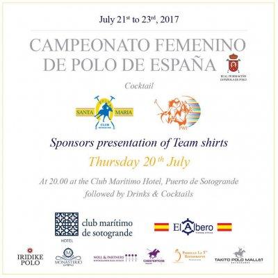 Campeonato de España de Polo Femenino 2017