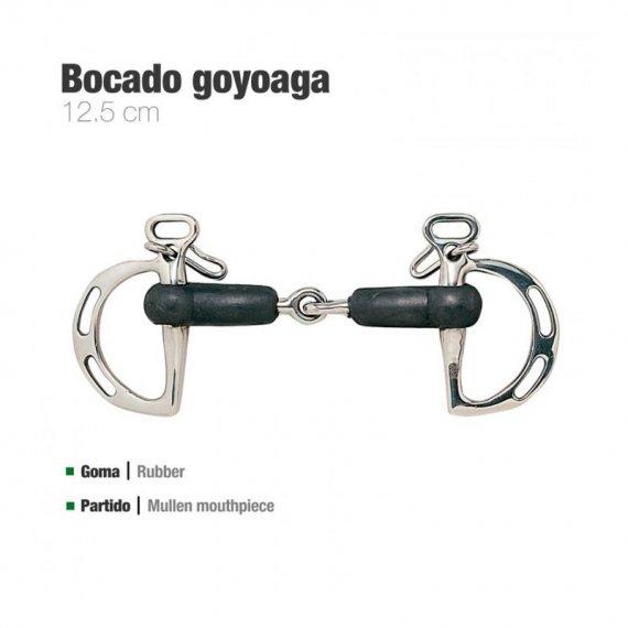 Bocado Goyoaga de Goma Partido con Pasadores 211011 zaldi