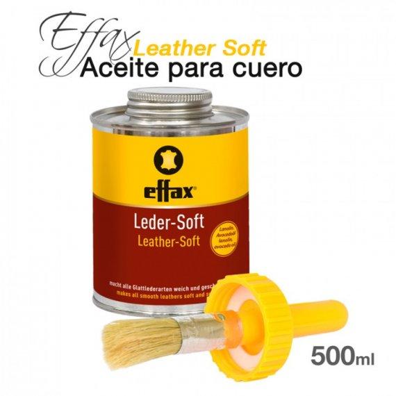 Effax Aceite para Cuero Leather Soft 500ml
