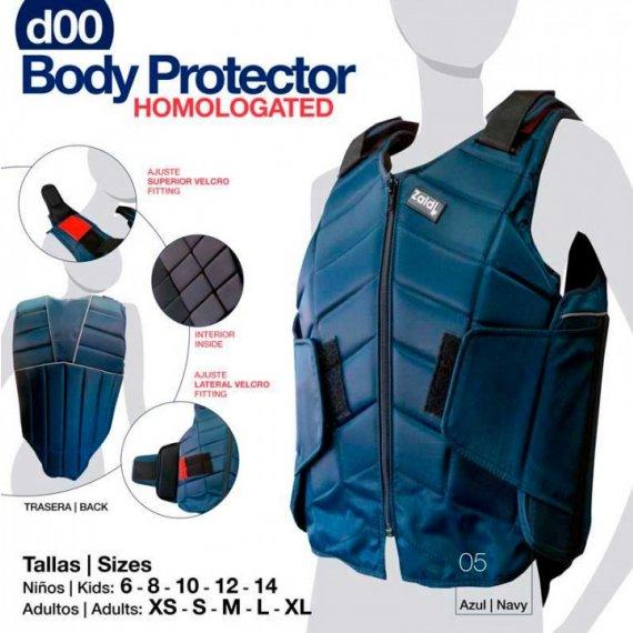 Chaleco Protector Homologado 3 Azul