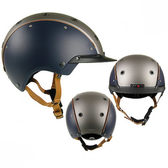 Casco Cas-Co Champ-3 Azul-Gris Antracita El Albero