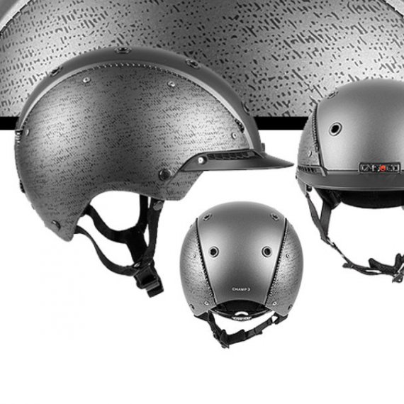 Casco Cas-Co Champ-3 Gris Metal El Albero