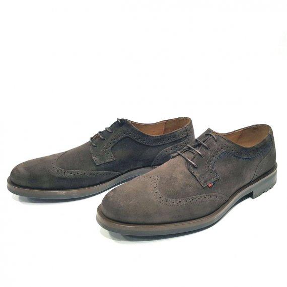Zapato Cordones Serraje Marrón